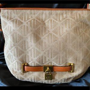 Ralph Lauren Women's Medium Tan Lock purse